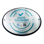 güvenli turizm tabelası
